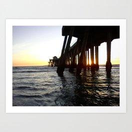 Pier 2 Art Print