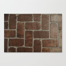 Brick Pattern in Spain Canvas Print
