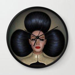 Queen of Clubs Wall Clock