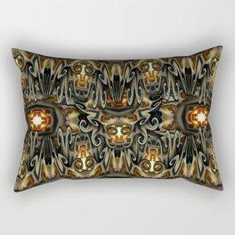 K-108 Abstract Lighting Abstract Rectangular Pillow