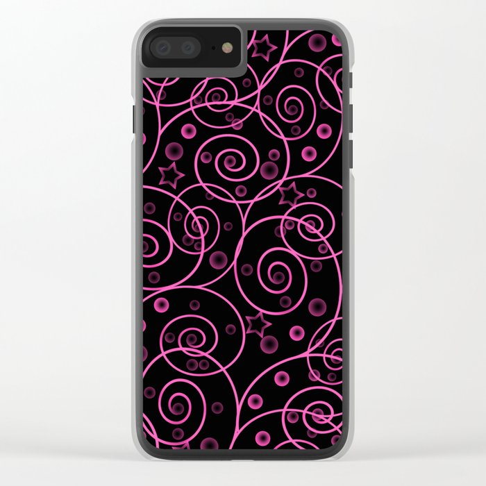Abstract pattern. Clear iPhone Case