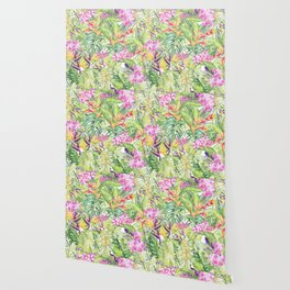 Tropical Garden 1A #society6 Wallpaper