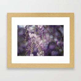 Aubergine Bliss Framed Art Print