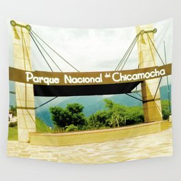 The Chicamocha National Park. Wall Tapestry