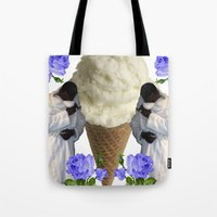gucci Tote Bags featuring Gucci Daddy  by Gabbi GOON
