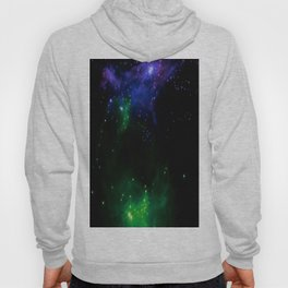 The Cosmos (blue and green) Hoody