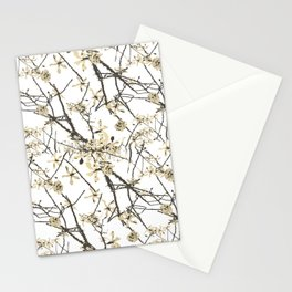 Nature Graphic Motif Pattern Stationery Cards