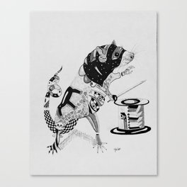 Rat Squire Canvas Print