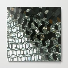 Harpa,  concert hall and conference centre Metal Print