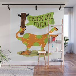 Hand Dog - Trick or Treat Wall Mural
