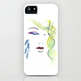 with the Shaman ~ Still like the Moon iPhone Case