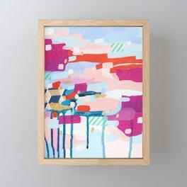 Asking for Directions Framed Mini Art Print