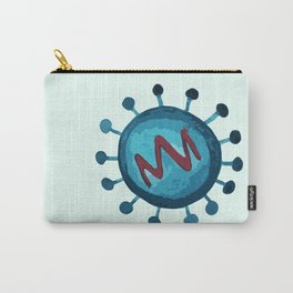 virus inspired illustration Carry-All Pouch
