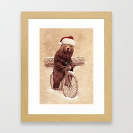A Barnabus Christmas Framed Art Print