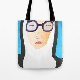 nun in the sun Tote Bag