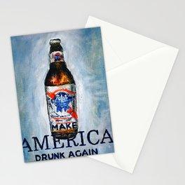 MAKE AMERICA DRUNK AGAIN Stationery Cards