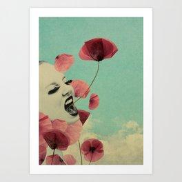 The Silent Storm Art Print
