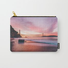 Washed-up Treasure Chest at Kirby Cove - San Francisco, California Carry-All Pouch