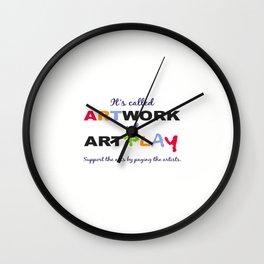 ARTWORK Wall Clock
