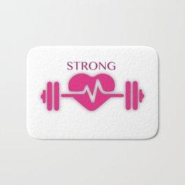 Strong Women Bath Mat