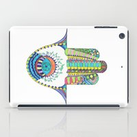 hamsa iPad Cases featuring HAMSA by Heaven7