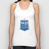 bad wolf Tank Tops featuring Bad Wolf by ReadThisVA