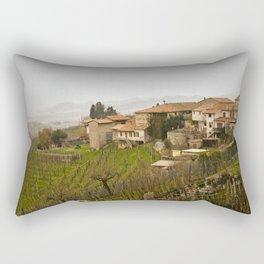 vineyard in veneto Rectangular Pillow