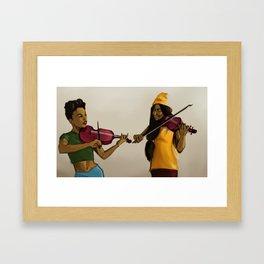 Musicians  Framed Art Print