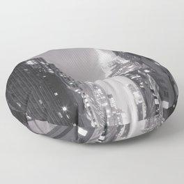 NYC Sparkle Floor Pillow