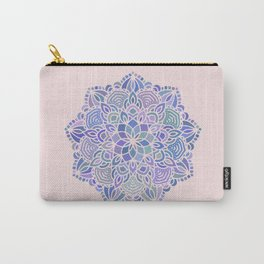 Mermaid Mandala (with pink) Carry-All Pouch
