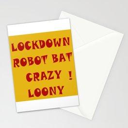 Bat Crazy Stationery Cards