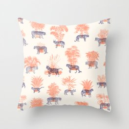 Where they Belong - Tigers Throw Pillow