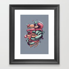 Assemble Framed Art Print