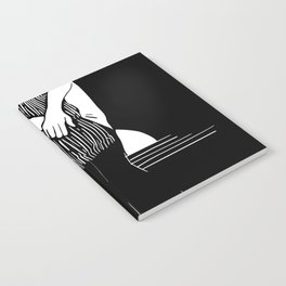 Staring At The Sea Notebook
