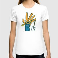 farm T-shirts featuring Farm Hand by Artistic Dyslexia