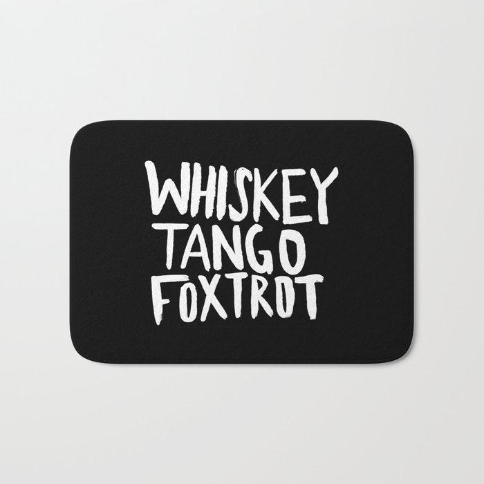 Whiskey Tango Foxtrot x WTF Bath Mat