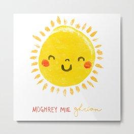 Moghrey Mie Ghrian Metal Print