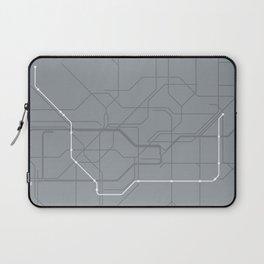 London Underground Jubilee Line Route Tube Map Laptop Sleeve