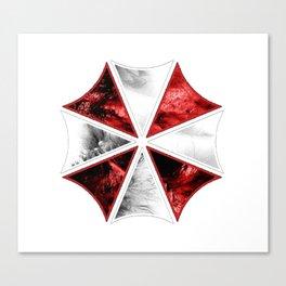 Resident Evil Umbrella Canvas Print