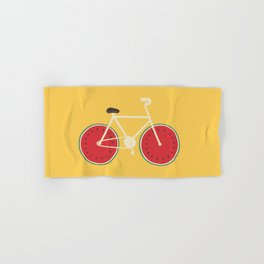 watermelon bike Hand & Bath Towel