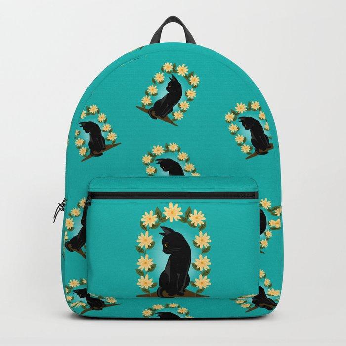 Flower gate Backpack