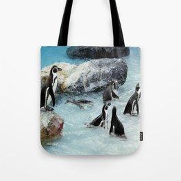Penguins. Tote Bag