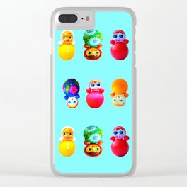 Dollies Clear iPhone Case