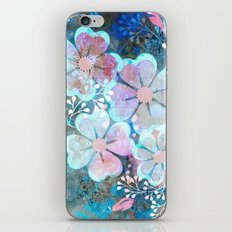 Blue Dream flower bed iPhone & iPod Skin