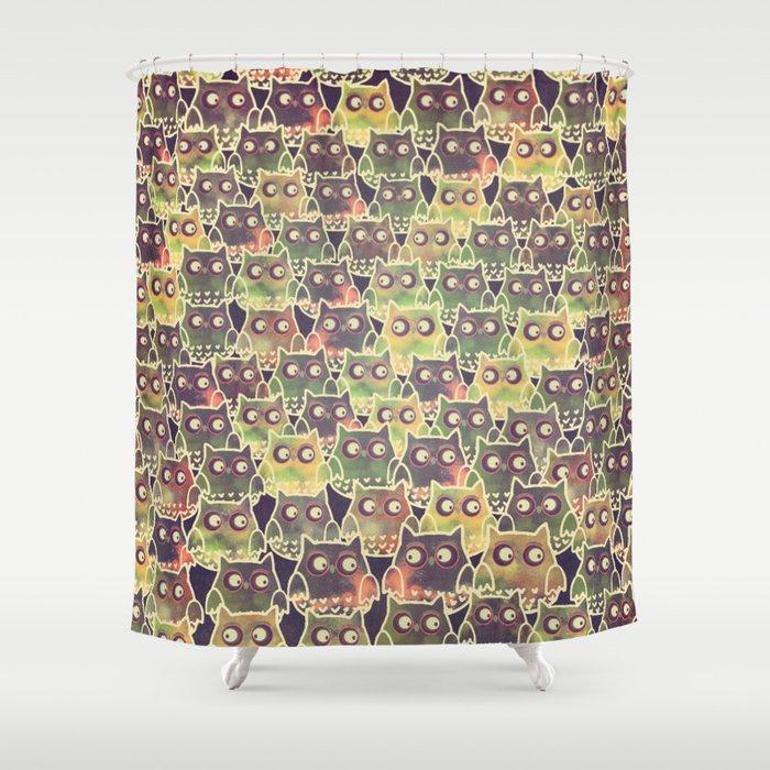 owl-83 Shower Curtain