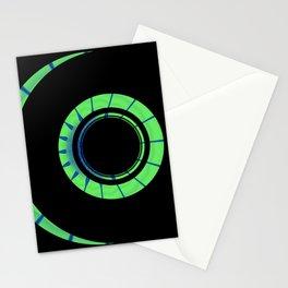 Fractal Design - Green Moon Stationery Cards