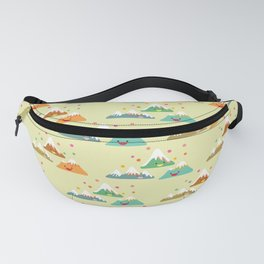 Mountain Friends Fanny Pack