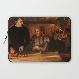 """It's late for that, Puck."" Laptop Sleeve"