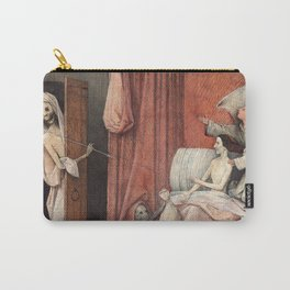 Hieronymus Bosch - Death and the Usurer Carry-All Pouch
