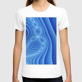 Blue Lace T-shirt